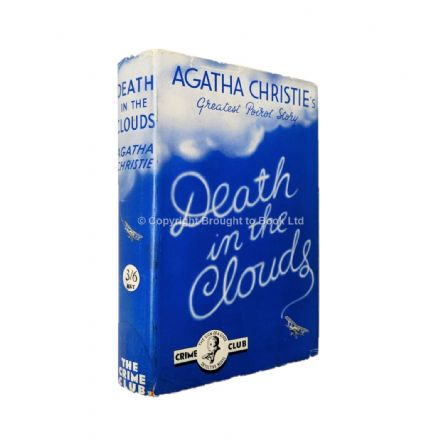 Death in the Clouds by Agatha Christie First Edition The Crime Club by Collins 1935